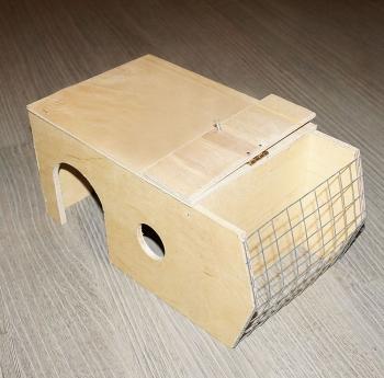 Дом-сенница с крышкой