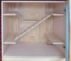 2х этажная витрина для шиншилл\полки из натур.дерево Липа