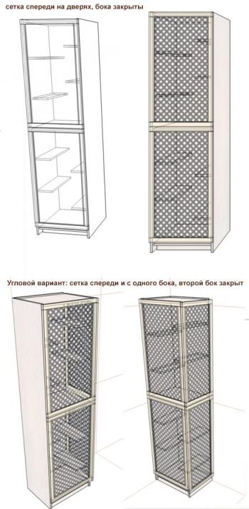 3-этажная витрина (под заказ)